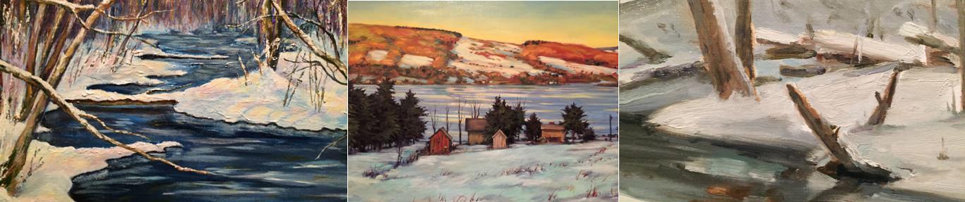 Snowy Splendor: Winter Scenes of Onondaga County