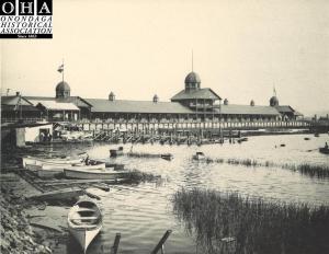 Iron Pier, Onondaga Lake, 1890