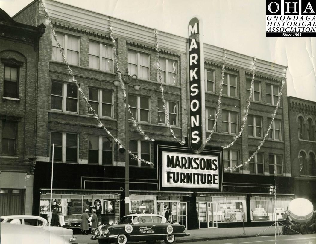Throughout Most Of The 20th Century The Marksons Furniture Company Was A Business Institution