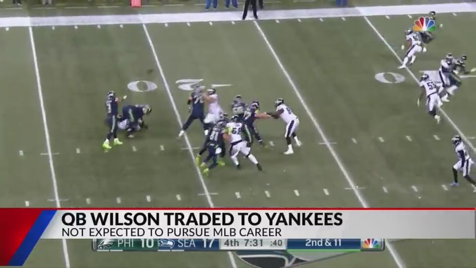Yankees trade for Russell Wilson
