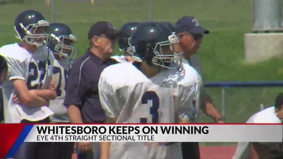Whitesboro embracing role as team to beat