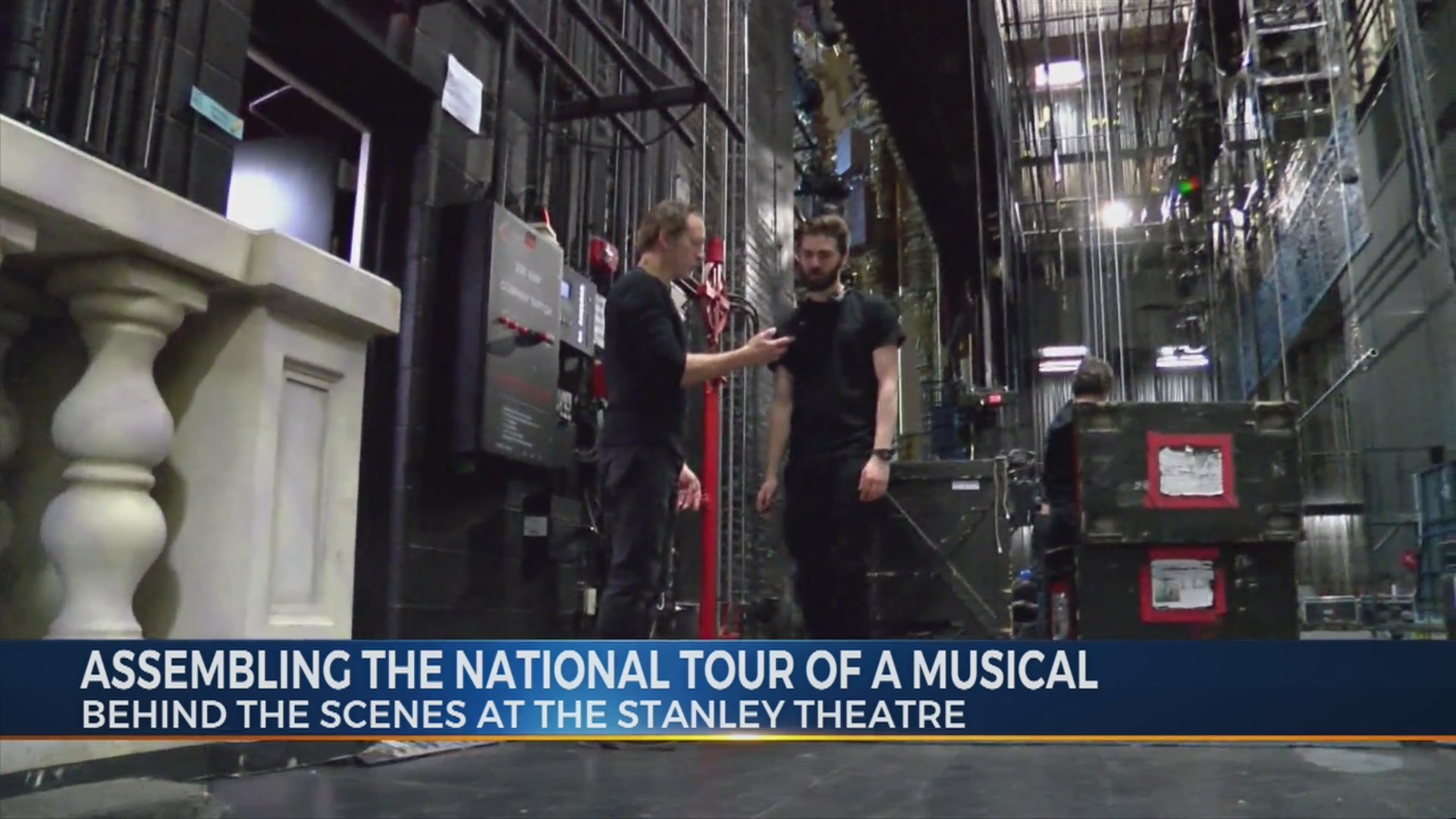Assembling The National Tour Of A Musical