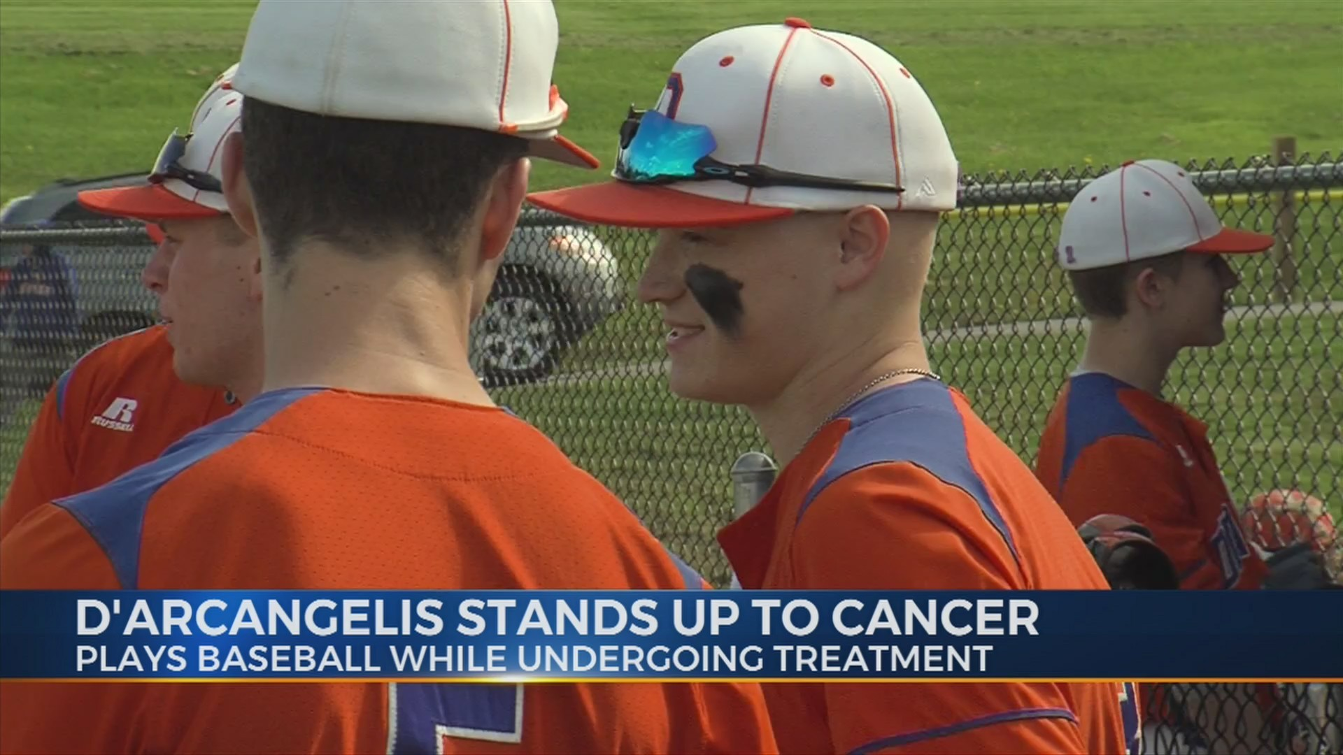 Oneida's D'Arcangelis stands up to cancer