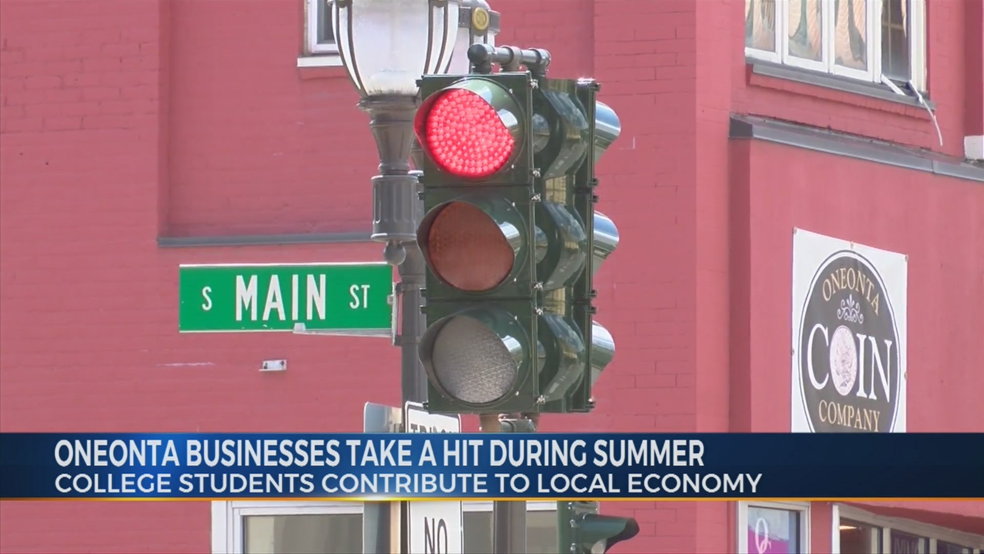 Oneonta Businesses Take Hit During Summer