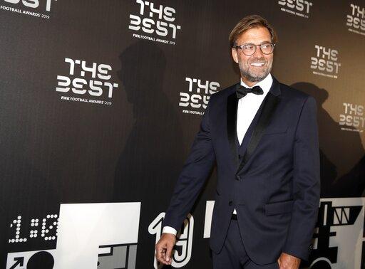 The Latest: Silvia Greco wins FIFA fan award