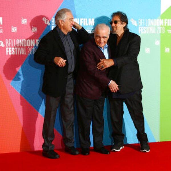 Al Pacino, Robert De Niro, Martin Scorsese