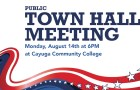Town Hall Meeting – August 14th