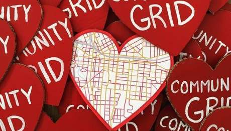 Community Grid Hearts