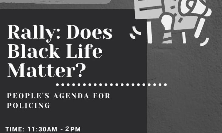 Rally: Does Black Life Matter?