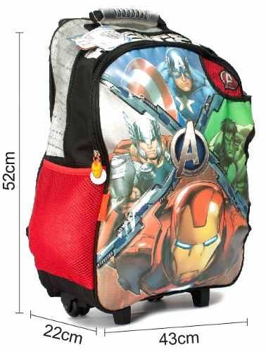 Image mochila-avengers-marvel-carro-grande-origina-distri-zetateam-114001-MLA20250964631_022015-O.jpg