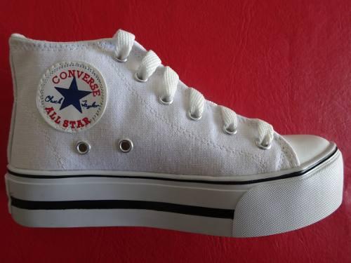 zapatillas converse con plataforma 2015
