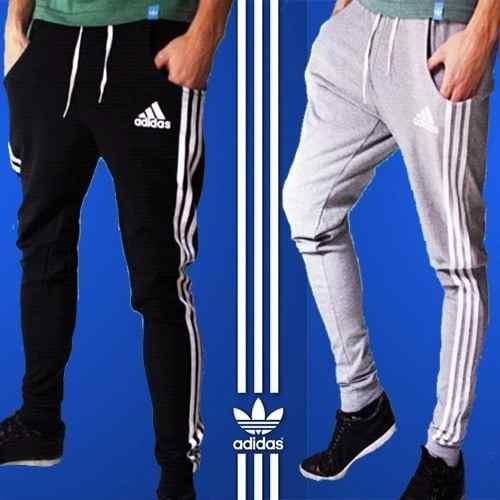 9b40591230b0d Pantalon Jogging Chupin Babucha Adidas Hombre Deportivo Semi ...