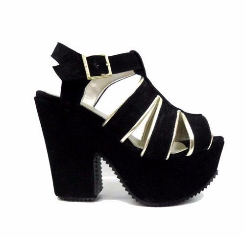 fcc8b75e6b907 Zapatos Sandalias C  Plataforma Modelo Rimini - Ultima Moda » Mayorista de  ropa