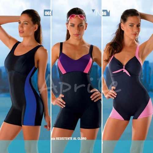 78d29f200f74 Malla Entera Con Short Marymar Natación Aqua Gym Al Talle 8 » Mayorista de  ropa