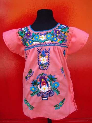 a6ebc91c0 Vestido Mexicano Para Niña