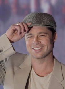 Boina Unisex Gorra Inglesa Paño Pana Lana Brad Pitt Visera