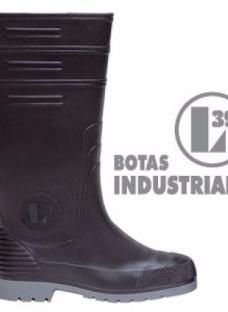 Bota Industrial De Pvc Lluvia Trabajo Moto Obras 1*cal Ofer