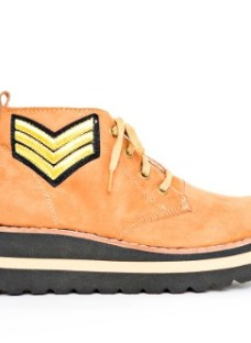 Botas Botitas Mujer Zapatos Plataforma Borcegos Militar Sale
