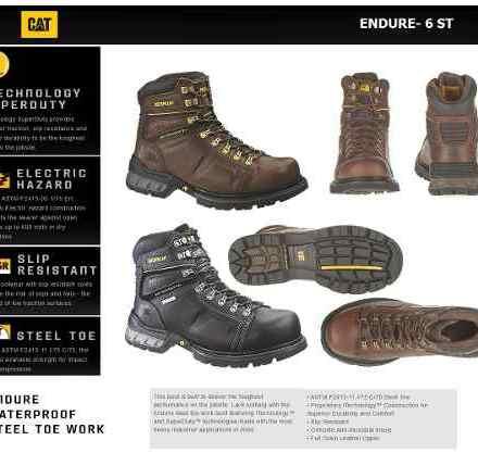 Botas Caterpillar - Cat Excavator6 Y Enduro6 (marrón