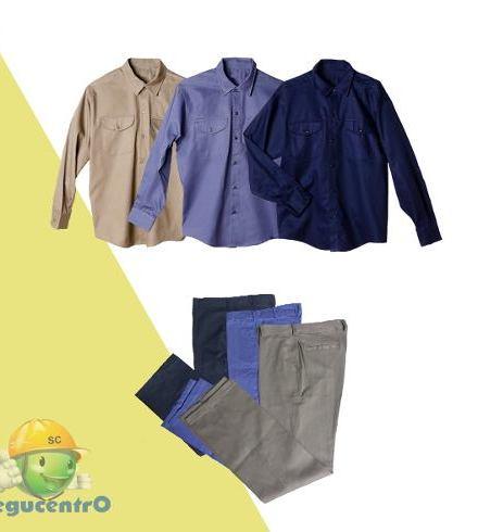 Camisa Y Pantalon T/grafa-ombu-pampero-microcentro