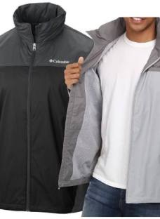 Campera Columbia Impermeable Lluvia Glennaker Lake Hombre