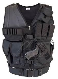 Chaleco Tactico Molle Policial Tipo Swat Reforzado