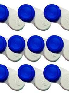 Combo X 10 Unidades Estuches Planos Para Lentes De Contacto