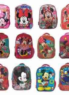 Mochila Espalda Jardin Mickey Minnie Disney Mundo Manias