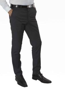Pantalón De Vestir Chupín Con Spandex. Jean Cartier-original