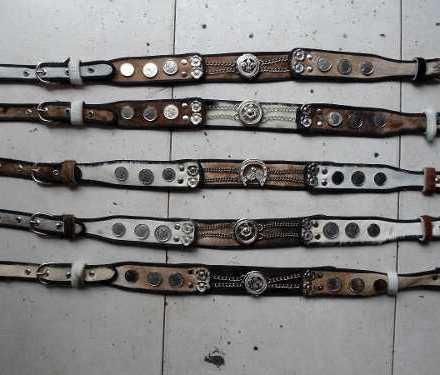 Rastras O Cinturos De Gaucho De Cuero Con Monedas Tirador N1