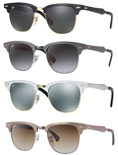 Ray Ban Clubmaster Aluminium Rb3507 Originales Made In Italy