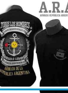 Remera Malvinas Argentinas Armada
