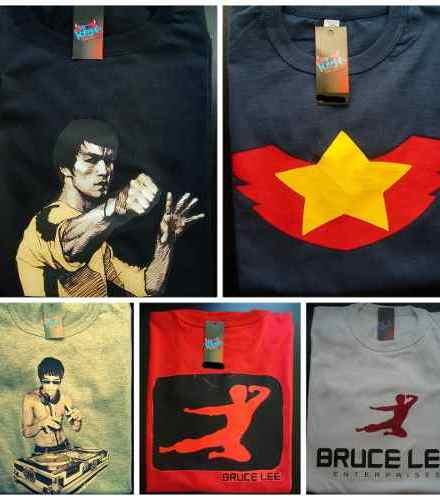 Remeras Bruce Lee Dragon Artes Marcial Movie  mr Korneforos 