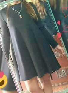 Vestido Bobo Tipo Remeron De Mujer Memoria Cero
