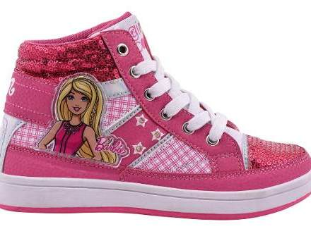 Zapatillas Barbie Con Luces Footy #810 #811 Mundo Manias