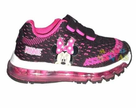 Zapatillas Disney Minnie Addnice Tejida Luces Mundo Manias