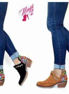 Zapatos Sandalias Mujer Mod Black & White Mugato-bsas