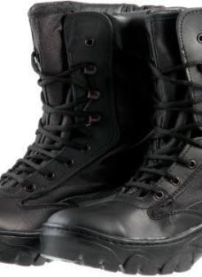Borcegui Tactico Militar Suela De Goma P/pvc Envio Gratis