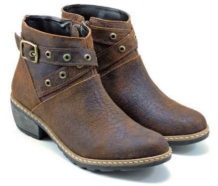 Botas De Cuero Vacuno Texanas Botitas Zapatos Las Brujitas
