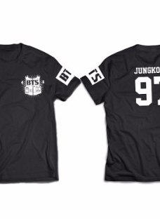Bts Bangtan Boys Remera Nº17  Jungkook Kookie Kpop