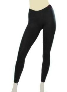 Calza Térmica Negras Doble Friza Sin Costura Talle Universal
