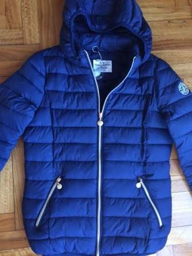 Campera Inflable Mujer Abercrombie Super Abrigada Miralas!