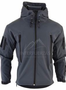 Campera Tactica Hombre Soft Shell Combate Policial Elite
