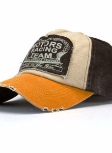 Caps Gorras Vintage Motors Racing Team Gastadas - Importadas
