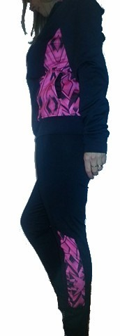 Conjunto Campera +remera+ Calza De Mujer Excelente Calidad