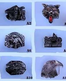 Hebillas Cinto ( Calaveras / Harley Davidson / Animales  )