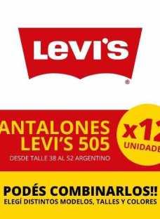 Jean Lev`s 505 - Precio Por Docena!