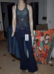 Maria Cher Pantalon Oxford Medio Jim Nueva Coleccion