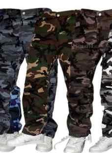 Pantalones Cargos Camuflados Desmontables Y Entero Jeans710