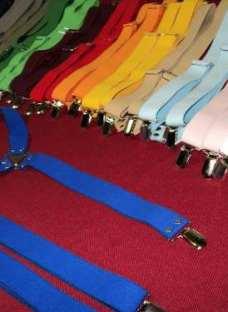 Tiradores Elasticos Lisos Con Broche - Fabricamos - Unisex